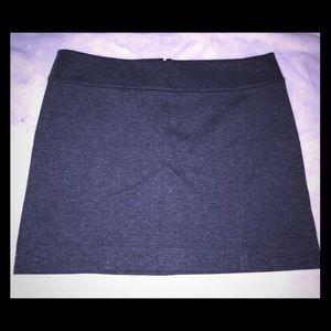 White House Black Market Gray Skirt
